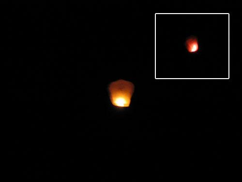 Überraschungsei: UFO über Rathenow