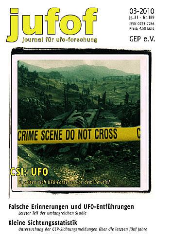 CSI:UFO – Cooles Titelcover