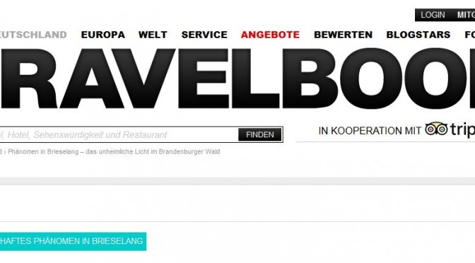 TRAVELBOOK-Tipp Brieselang